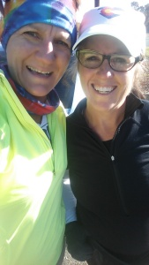 Love running with my office BFF!