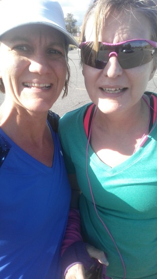 Running with Jolie!