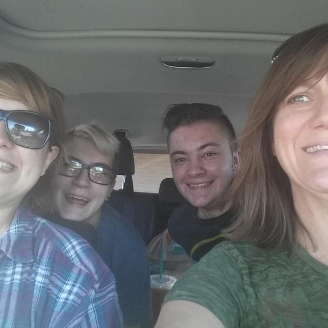 Road Trip!!! Bree, Chelsea, Adrian & Me