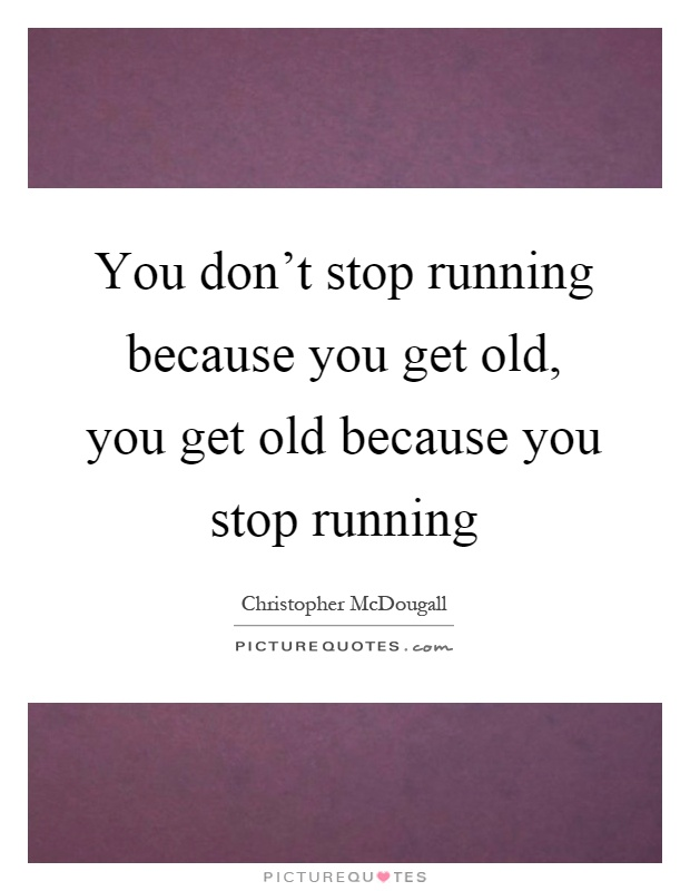 Dont Stop Running