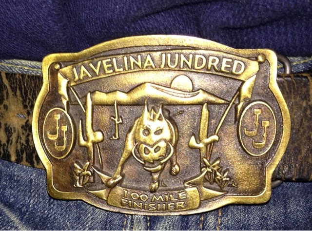 Javelina Jundred Belt Buckle