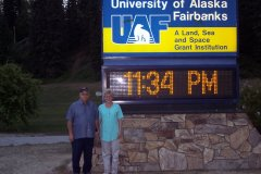 Gma & Gpa in Fairbanks